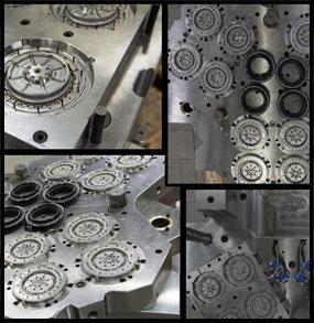 moules metalliques de precision